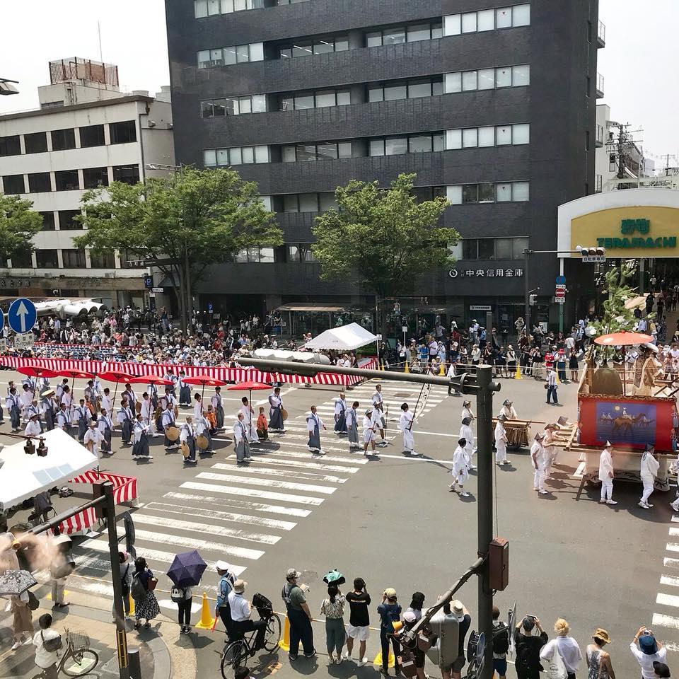 祇園祭 山鉾巡行 ヨガ 京都ヨガ kyotoyoga RAVISTA二条ヨガスタジオ