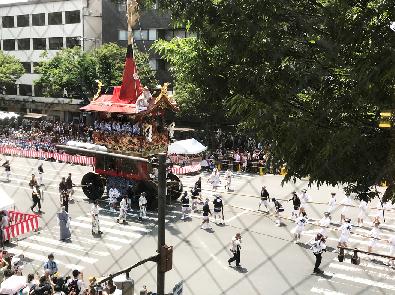 2019祇園祭ヨガ